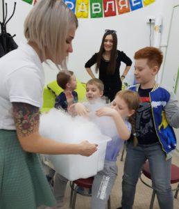 химическое научное шоу для детей в Саратове